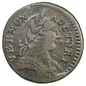1787 RR-13 R-1 Vermont Colonial Copper Coin