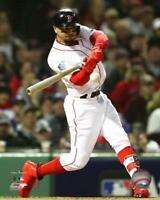 """2018 World Series MOOKIE BETTS """"Game 1"""" Boston Red Sox LICENSED 8x10 photo"""