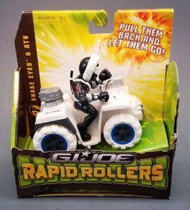 G.I Joe Rapid Rollers Snake Eyes ATV Ninja Commando 2009 All Terrain Vehicle New