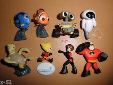 Disney PIXAR 8 mini figure set WALL-E finding NEMO the INCREDIBLES toy