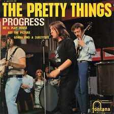 """PRETTY THINGS """"PROGRESS"""" ORIG FR 1966 EX/VG+"""