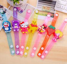 1PCS Children's Luminous Wrist Band Cartoon Characters Hand Ring Bracelet Gift