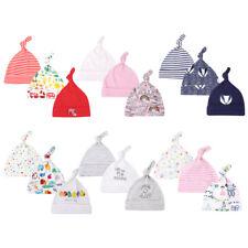 3 Pack Newborn Infant Baby Boys Girls Beanie Knot Hat Cotton Adjustable Cap