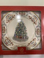 "Lenox~Annual Christmas Tree Around the World Collector Plate- Ireland -""2001"""
