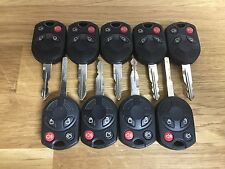 Lot x 9 Factory OEM Ford Keyless Entry Remote Key Combos