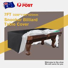 7/8/9ft Pool Snooker Billiard Table Cover Waterproof Polyester Dust Cap Outdoor