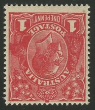 1d KGV Acsc 75Ca~SG53w DIE 3 DEEP BRIGHT RED INVERTED WMK MLH WITH CERTIFICATE.