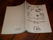 Mineral Springs A+ Academy 200-2001 Winston - Salem NC yearbook