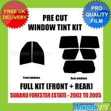 SUBARU FORESTER ESTATE 2002-2005 FULL PRE CUT WINDOW TINT KIT