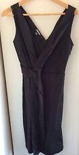 DKNY Black One Piece Pleated Dress Donna Karen New York (was $489)
