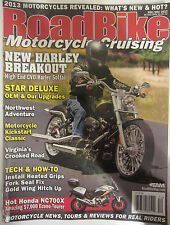 Road Bike Magazine Motocycle Cruising Nov/ Dec 2012 Star Deluxe OEM Motorcycle