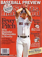 Sports Illustrated 2007 Boston Red Sox Daisuke Matsuzaka Newstand Issue NR/Mint