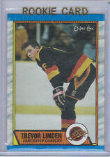 89-90 OPC O-Pee-Chee Trevor Linden Rookie Card RC #89 (Mint)