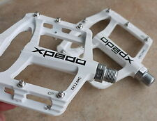 XPEDO XMX24MC MAGNESIUM PLATFORM PEDALS 243g PAIR MTB BMX DH NEW IN BOX WHITE