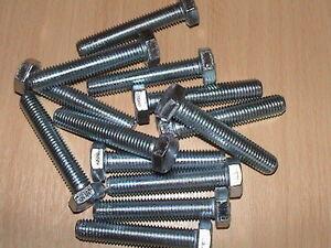 50 M12 BZP HIGH TENSILE BOLTS