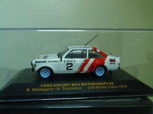 1/43 IXO FORD ESCORT MK II RALLYE 1979