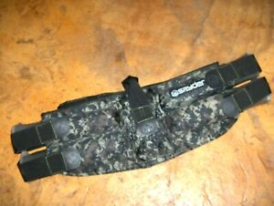 #1735 - Kingman Spyder Paintball Ammo Harness/Belt - Camouflage, 4 Pods