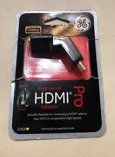 GE Dual Swivel HDMI Adapter Pro Full HD 1080p