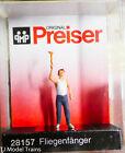 Preiser HO #28157 Man Swatting a Fly (Painted) Plastic Figure (1:87th)