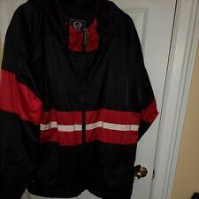 Gear for Sports Hooded /Rain Jacket Windbreaker Black Red White M