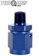"""AN-6 (6AN) Female To 1/8"""" NPT MALE Oil Pressure Sender / Gauge Take Off Adapter"""