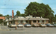 postcard USA P. A. the Milford Diner posted