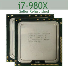 1PC Intel Core i7-980X Extreme 3.33GHz LGA1366 6core 12M CPU Processor USED RHUS
