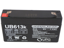 UB613 - 6 Volts 1.3Ah -Terminal F1 - Rechargeable Battery - UB613