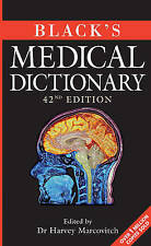 BLACK'S MEDICAL DICTIONARY by H. Marcovitch : AU1/2 : HB : NEW BOOK : FREE P&H