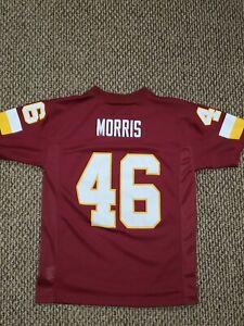 NWOT Washington Redskins Alfred Morris NFL Football Jersey Youth Boys Medium