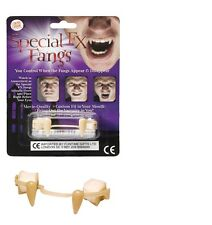 Unisex especial Fx Fang Retráctil falsas falso Vampiro Dientes Fancy Dress Divertido