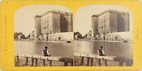 Francia Tarascona Château Del Roi-Réné Foto Braun, Stereo Vintage Albumina c1865