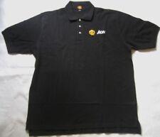 MANCHESTER UNITED Herren Poloshirt in Schwarz Gr. XL