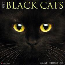 Just Black Cats 2021 Wall Calendar (Free Shipping)
