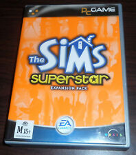 PC CD. The Sims Superstar. (Maxis, 2003)
