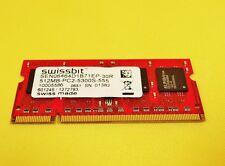 Notebook Arbeitsspeicher Swissbit 512MB DDR2/200Pin/SEN06464D1B71EP-30R