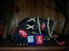 RAWLINGS BASEBALL GLOVE 11.5 INCHES LEATHER PALM MESH OUTER LINING FITS LT HAND