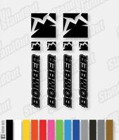 Marzocchi Bomber Retro Decals / Stickers Pack - Custom / Fluorescent Colours