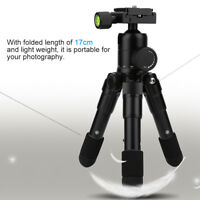 Mini Tripod Folding Stand with Ball Head for Canon Nikon DSLR  Camera AL