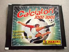 BUSTINA PACKET SOBRE FIGURINE CALCIATORI PANINI 2002-2003