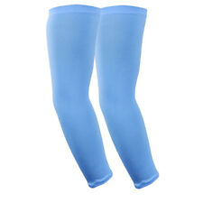 UV Solar Protection Cooling Arm Sleeves Compression Sky Blue Manchester City F.C