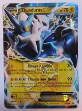 Thundurus ex - BW81 - Ultra Rare Promo Pokemon Card