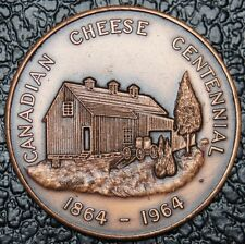 1964 CANADIAN CHEESE CENTENNIAL - First Cheese Factory Built in Norwich Ontario