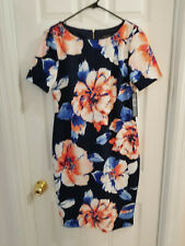 NWT Tahari Arthur S. Levine Womens Dress  Size 8 Multicolor