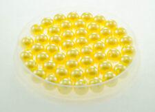 Lot 10 Perle imitation 10mm Jaune perle de culture, Creation Bijoux, Collier,