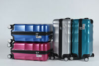 20'' Carry On Luggage Travel Bag Trolley Spinner Suitcase By Bayer PC Material