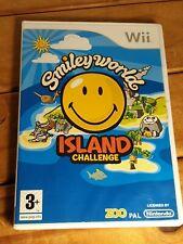 Nintendo Wii / WiiU Smiley World: Island Challenge PEGI 3+ Puzzle | Tested GC