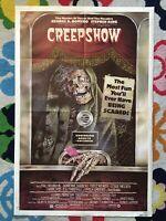 CREEPSHOW (1982)--original one-sheet poster--NSS--better than fair condition