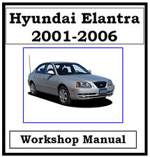 HYUNDAI ELANTRA / LANTRA 2001 - 2006 WORKSHOP MANUAL DIGITAL  DOWNLOAD