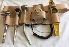 "New Q Tools Scaffold Full Belt & Tool Kit (46"" Belt) & Tool Safety Lanyard"